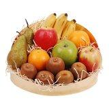 Fruitschaal karton 22 cm ovaal met hoge rug