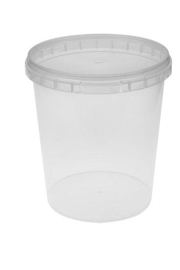 Verzegelbare cups 2500ml met deksels