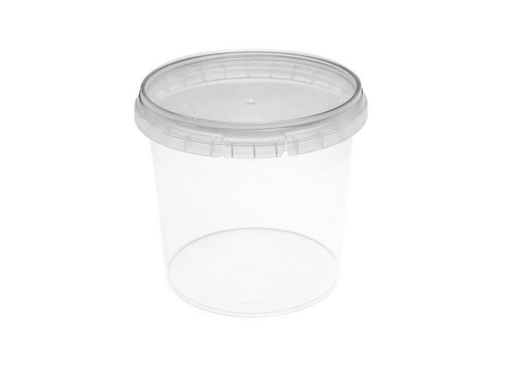 Verzegelbare cups 360ml met deksels