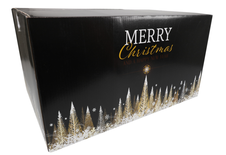 Kerstpakketdoos Gold E 550x390x300mm