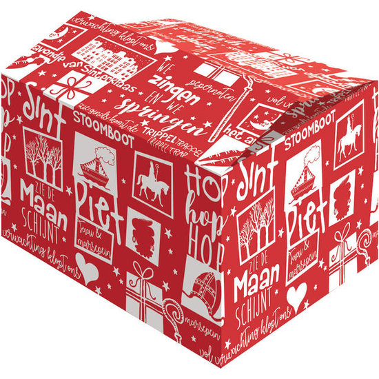 Sinterklaaspakketdoos 310x200x140mm