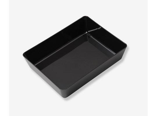 Presentatieschaal zwart 290x220x70mm