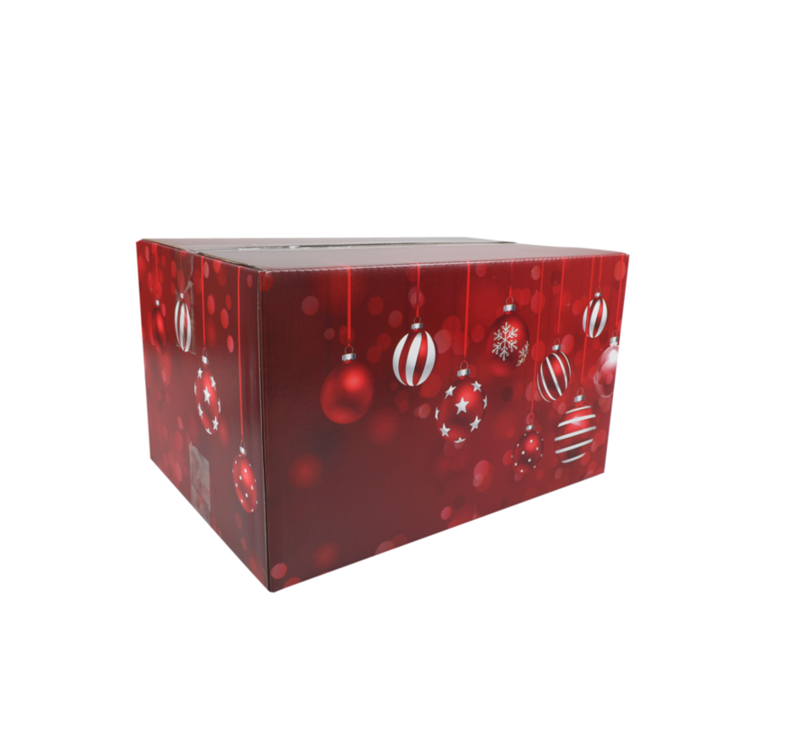 Kerstpakketdoos Red B 350x315x170mm