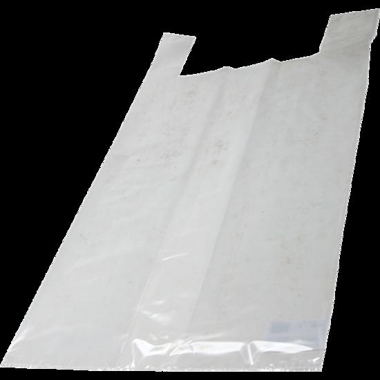 Hemdtassen groot LDPE transparant 37x17x70cm