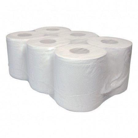 Handdoekrollen gerecycled papier midi pallet