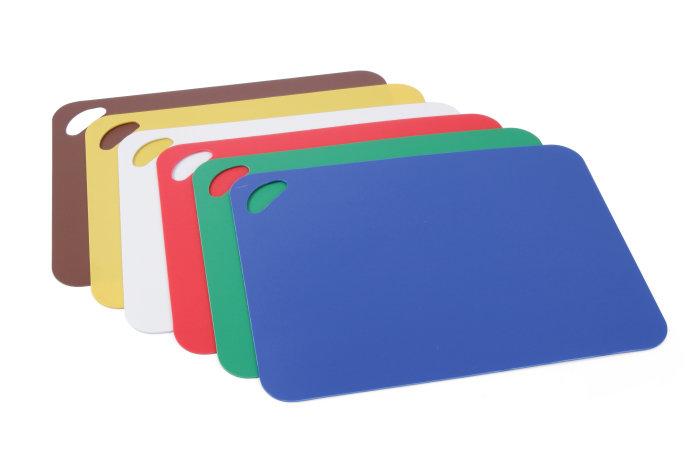 Snijplank kleurenset Hendi 6-delig