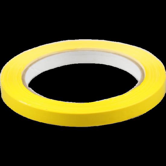 Zakkensluittape geel 10 rol