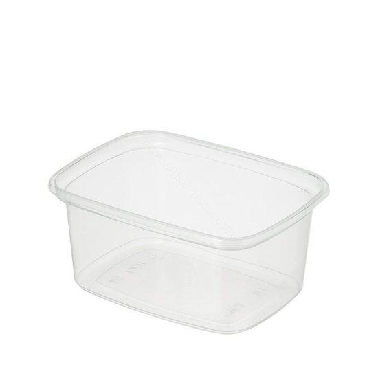 Plastic bakjes 250ml polypropyleen kleinverpakking