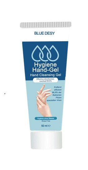 10x 50ml desinfecterende handgel