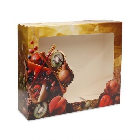 Geschenkdozen voor fruit 33cm