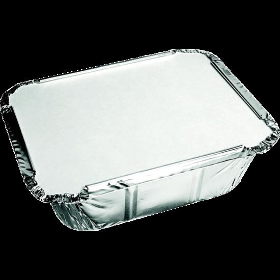 Aluminium bakjes 450cc met deksel