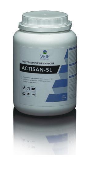 Actisan 5L desinfectie tabletten