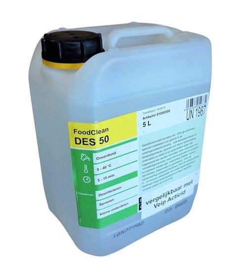 Des50 desinfectiemiddel 5 liter