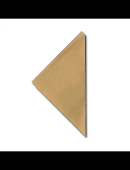 Papieren puntzakjes friet FSC bruin K21