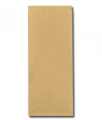 Ersatz papieren snackzakken FSC bruin 1 ponds nr.27
