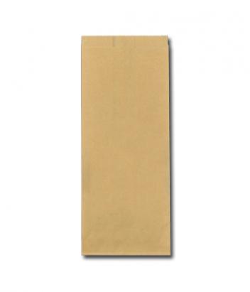 Ersatz papieren snackzakken FSC bruin half ponds nr.25