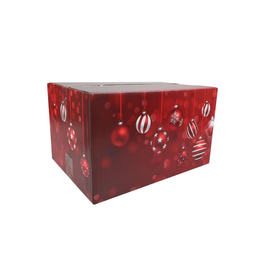 Kerstpakketdoos Red A 310x200x140mm