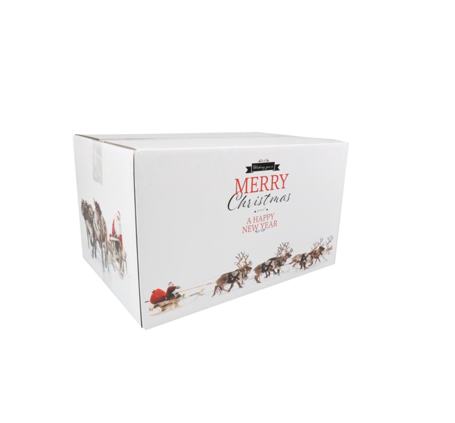 Kerstpakketdoos Rudolph A 310x200x140mm