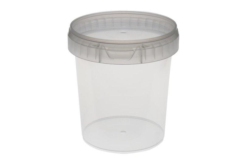 Verzegelbare Cups 870ml met deksel