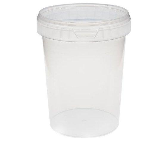 Verzegelbare cups 1530ml met deksel