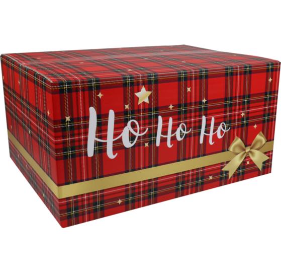 Kerstpakketdoos Hohoho D 450x350x230mm
