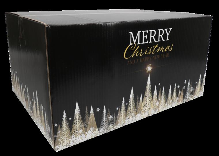 Kerstpakketdoos Gold D 450x350x230mm