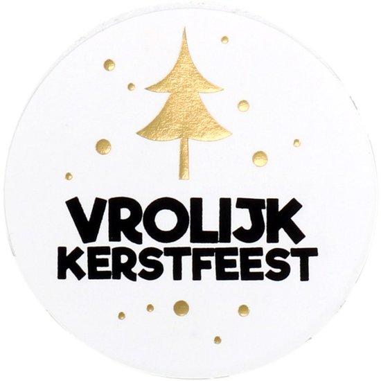 Stickers Vrolijk Kerstfeest