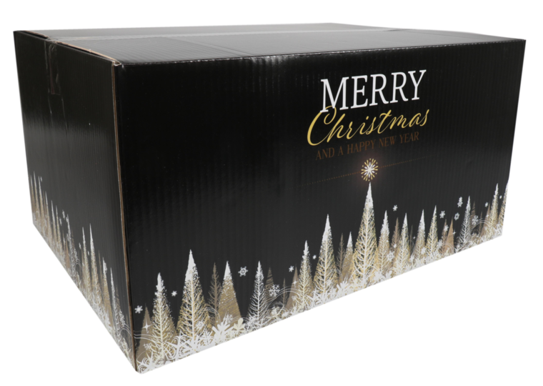 Kerstpakketdoos Gold D 450x350x230mm