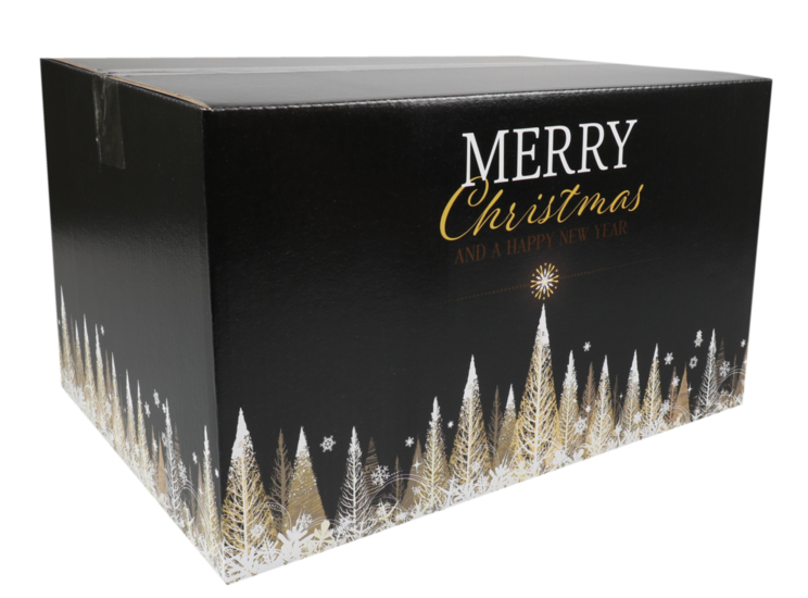 Kerstpakketdoos Gold C 390x290x230mm