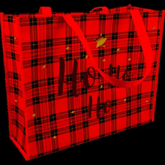 Kerst shopper draagtassen Red 45x15x36cm