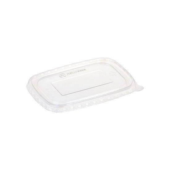 Deksels voor bakken bio kraft-PLA 17,3x12cm