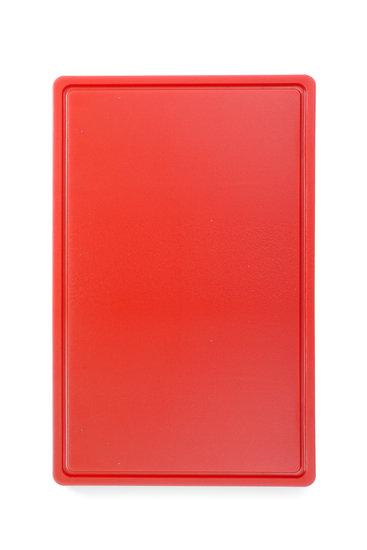 Snijplank HACCP rood 530x325mm
