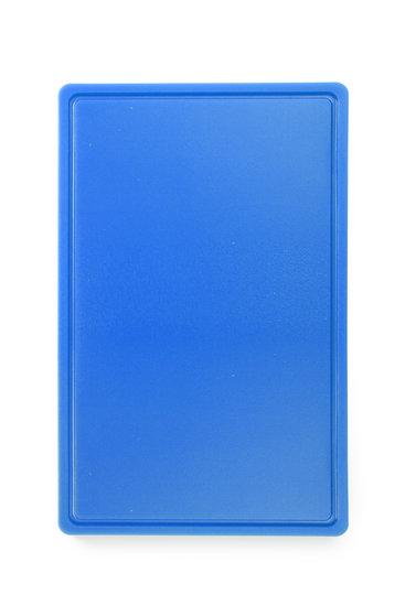 Snijplank HACCP blauw 530x325mm