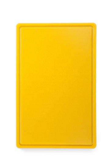 Snijplank HACCP geel 530x325mm