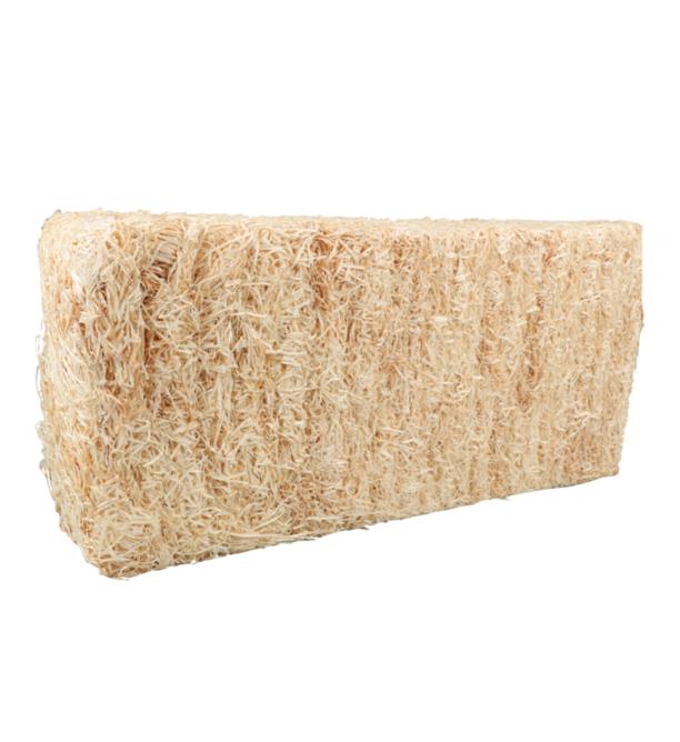 Houtwol bio 10kg fijne kwaliteit