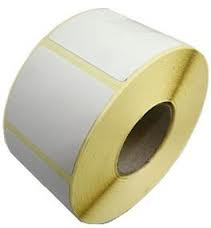 Thermo etiketten 58x53mm weegschaal