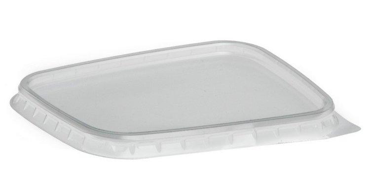Deksels R-pet voor plastic bakjes 150ml en 250ml grootverpakking