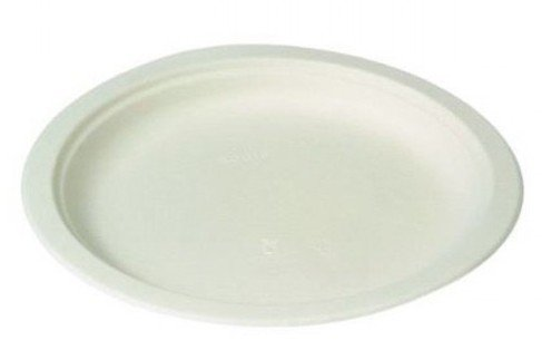 Suikerriet borden wit 23cm