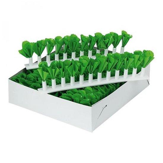 Toonbank decoratiestrips groen 30cm