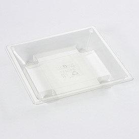 Deksels voor tapas bakjes 1-vaks kleine verpakking