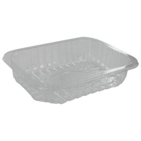 Foodtrays transparant 70 diep 179x139x45mm