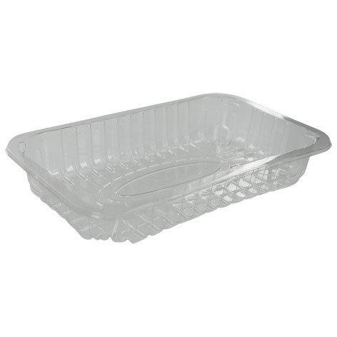 Foodtrays transparant 73 diep 232x146x45mm