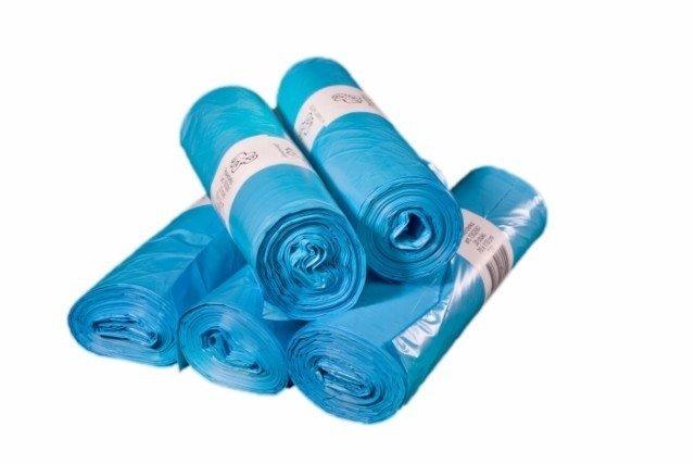 Vuilniszakken blauw 120 liter 70x110cm