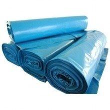 Kliko vuilniszakken 240 liter 65x(25x25)x140cm blauw