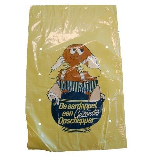 Aardappelzakken 2.5kg LDPE geel