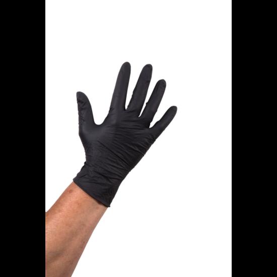 Nitril wegwerphandschoenen zwart