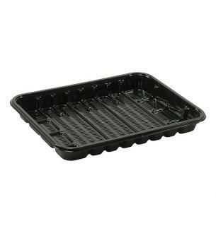 Foodtrays KS70 laag zwart 183x135x20mm