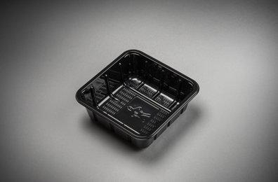 Foodtrays KS60 middel zwart 130x130x35mm