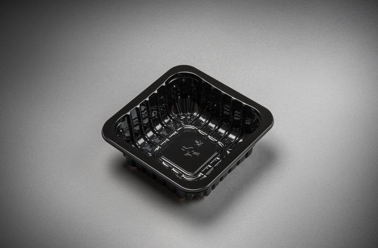 Foodtrays FT60 diep zwart 130x130x45mm