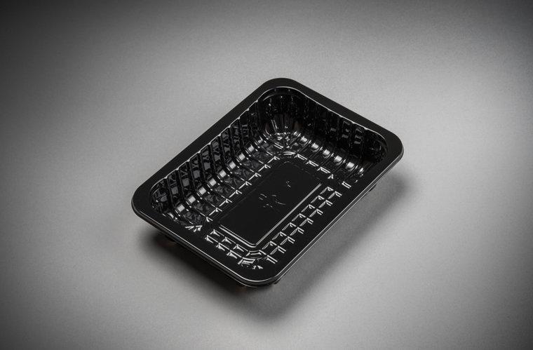 Foodtrays FT70 diep zwart 185x135x45mm
